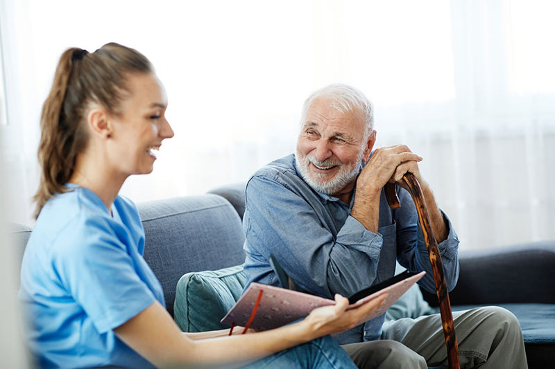 Working as a CNA for an Assisted Living Facility